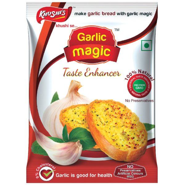 Khushi Foods | Garlic Magic Garlic-Magic-600x600 Garlic Magic (Pouch)