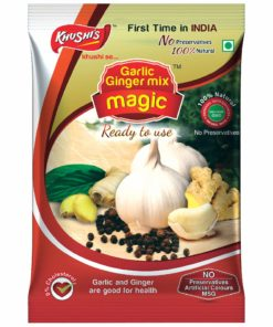 Khushi Foods | Garlic Magic Ginger-Garlic-Mix-Magic-Pouch-247x296 Products Of Khushi Foods | India's Biggest Spices And Masala Manufacturer