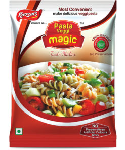 Khushi Foods | Garlic Magic Pasta-247x296 Products Of Khushi Foods | India's Biggest Spices And Masala Manufacturer